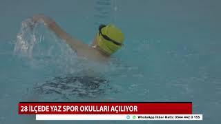 Konya'nın 28 ilçesinde spor okulu açılıyor