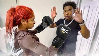 My Sister Called Out This Youtuber To Box…