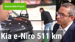 Kia e-Niro : 511 km d'autonomie en ville selon Frédéric Chouraqui