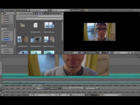 Picture in Picture Effect (video editing) – Blender Tutorial