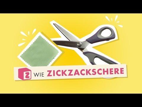 Z wie Zickzackschere im Makerist Nählexikon – powered by Prym