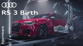 "Download Youtube: The Audi RS 3 ""Birth"""