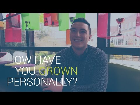 How have you grown personally? | University of Southampton