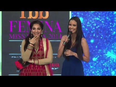Oops moment for Miss World 2013 Megan Young - IANS India Videos