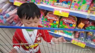 Ông già Noel Tin và anh Hai đi siêu thị