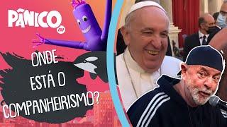 Visão de Papa Francisco do Brasil está sendo influenciada por Lula? Morgado comenta
