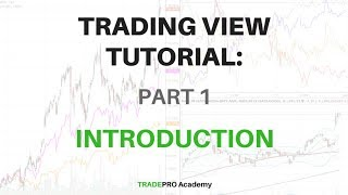 TradingView Tutorial Part 1   How To Setup TradingView Charts And Customize Preferences