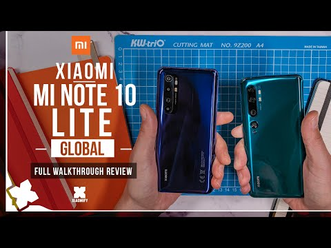 External Review Video QnOaQcMqUII for Xiaomi Mi 10 Lite 5G (Zoom Edition) Smartphone