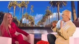 Cardi B Shows Ellen How She Got Pregnant (Spoof)