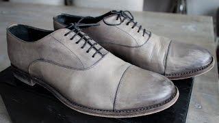 Giorgio Armani Grey Dress Shoes Review