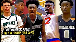 Every #1 Ranked Player In Every Position! (2015-2020)