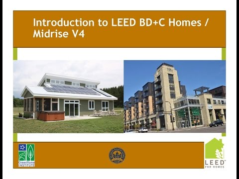 Intro to LEED Building Design and Construction V4 Homes - Midrise ...