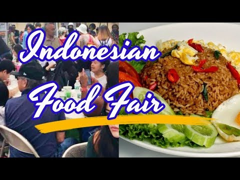 INDONESIAN FOOD FAIR IN NEW YORK CITY