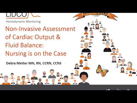 Non invasive assessment of cardiac output and fluid balance ...