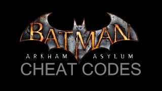 COM; Batman; Arkham Asylum; Command Cheat Codes