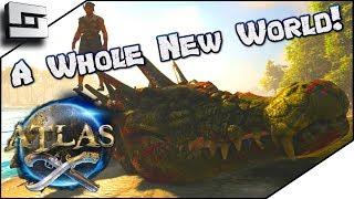ATLAS: Pirates in Ark! I mean Arrrrrrrrk! Atlas Gameplay / Let's Play