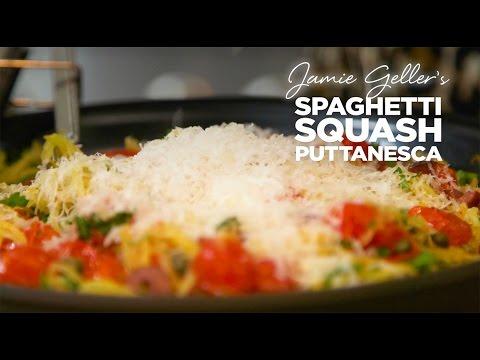 Spaghetti Squash Puttanesca | JOY of KOSHER