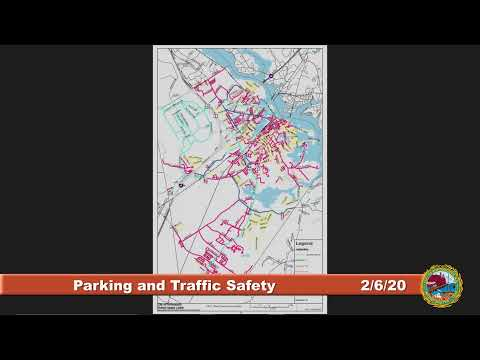 Parking and Traffic Safety Committee 2.6.2020