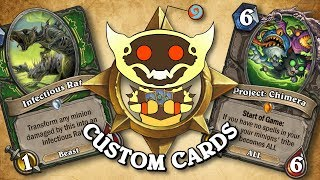 TOP CUSTOM CARDS OF THE WEEK #33 | Card Review | Hearthstone