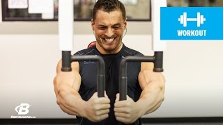 Power Pecs Chest Workout   Ryan Hughes by Bodybuilding.com