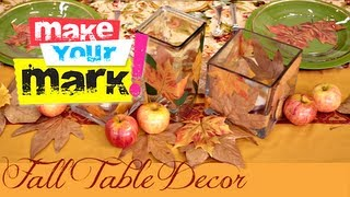 Fall Table Setting Ideas!