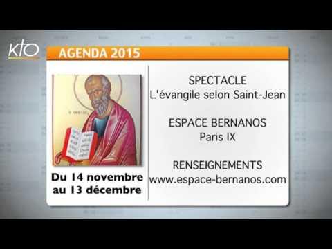 Agenda du 2 novembre 2015