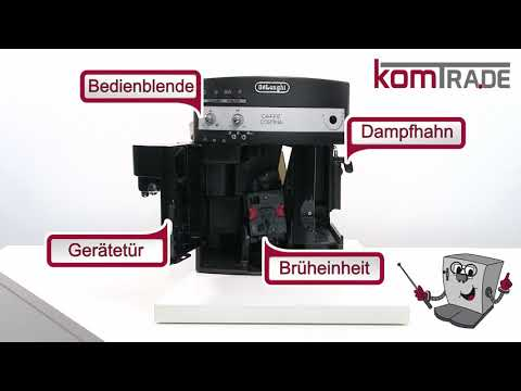 EAM/ESAM Bauteile-Übersicht Delonghi Ersatzteile Reparaturanleitung