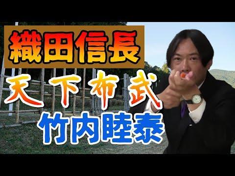 竹内の日本史 戦略図解ボード #036 織田信長の天下布武