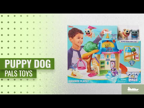 Puppy Dog Pals Playset Where Bingo Rolly Help Find The Dog House