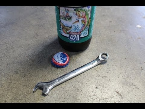 How To Make A Wrench Bottle Opener