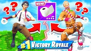 WE HAVE TO *PROTECT* the TOILET PAPER BASE! (Fortnite)