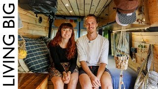 Couple Convert Van For Full Time Living And Travel in Australia - Video Youtube