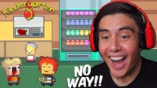 FIRST DAY IN OUR NEW SCHOOL & I MICROWAVED MY WHAT?! | Kindergarten 2 [1]