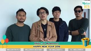 Musketeers Happy new year 2018