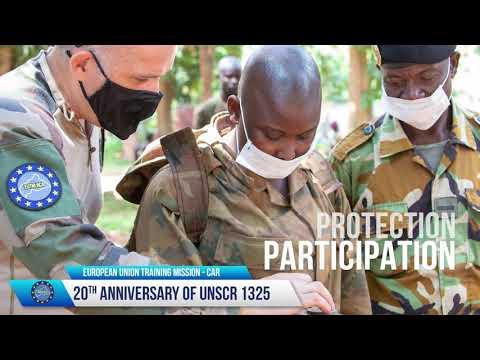 UNSCR 1325 20th Anniversary