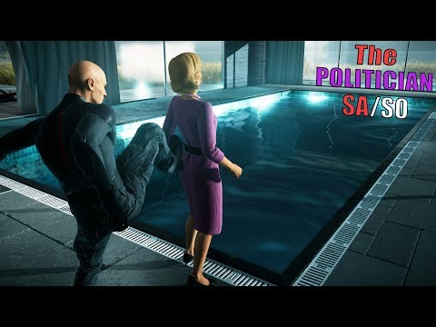 HITMAN™ 2 Elusive Target #5 - The POLITICIAN Silent Assassin Suit Only (Pool Accident)