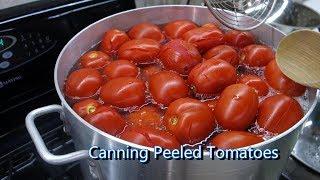 Italian Grandma Makes Canned Peeled Tomatoes