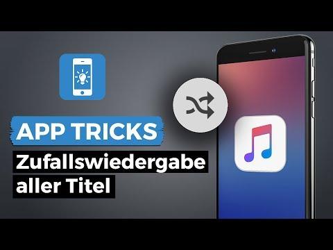 Zufallswiedergabe aller Titel in Musik App ab iOS 8.4 | iPhone-Tricks.de