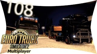 preview picture of video 'LETS PLAY: ETS 2 - MULTIPLAYER: #108 Server Probleme und Lags I Euro Truck Simulator 2'