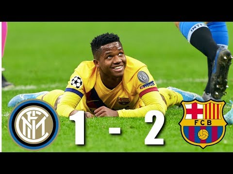 Inter Milan vs Barcelona [1-2], Champions League, Group Stage 2019/20 - MATCH REVIEW