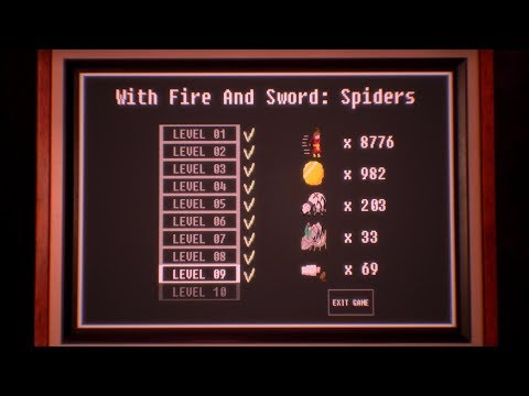 "Observer Mini-Game ""With Fire and Sword: Spiders"" level 9 walkthrough"