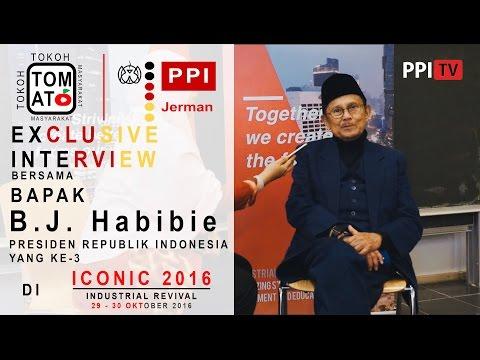 [TOMAT] - Prof. Dr. -Ing. Baharuddin Jusuf Habibie, Tongkat Estafet Kepemimpinan, ICONIC 2016