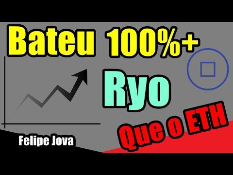 Ryo Bateu 100%+ que ETH