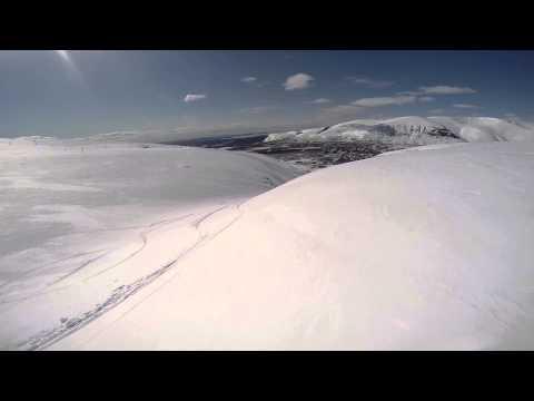 Видео: Видео горнолыжного курорта КолаСпортланд-Кировск в Мурманская область