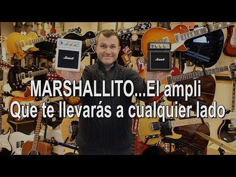 MS-2 de Marshall, el mini ampli que te llevarás a cualquier lado