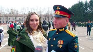 С родным ДВОКУ простились 246 курсантов