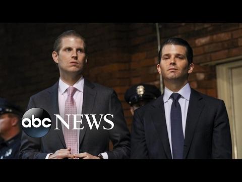 FBI calls emergency meeting with Eric and Donald Trump Jr.