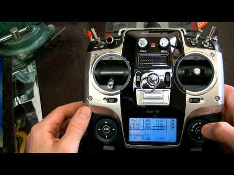 Technik 12: Graupner MX 16 HOTT - Dual Rate und Exponential (EXPO)