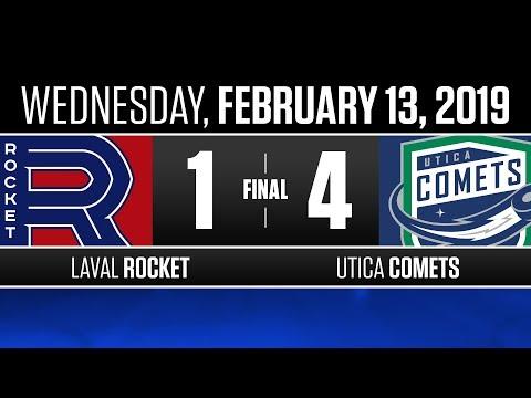 Rocket vs. Comets | Feb. 13, 2019