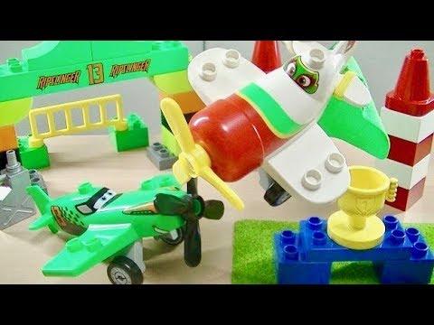 Vidéo LEGO Duplo 10510 : La course aérienne de Ripslinger